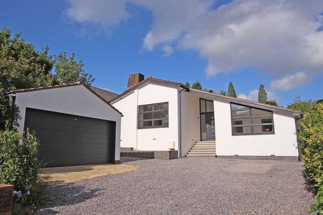 Thumbnail Detached bungalow for sale in Bassett Green Close, Southampton