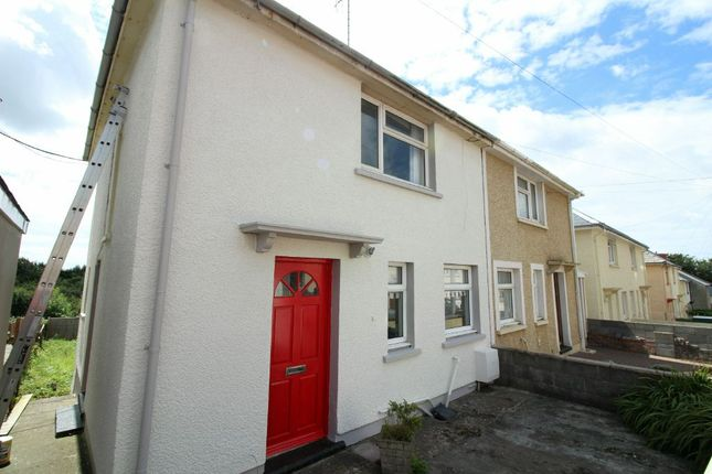 Thumbnail Semi-detached house to rent in Cromwell Road, Hubberston, Milford Haven