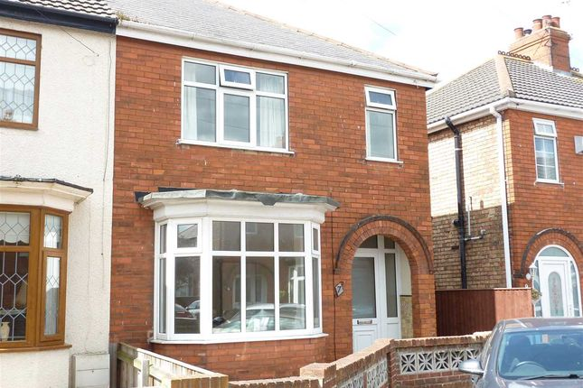 Thumbnail Semi-detached house for sale in Kathleen Avenue, Cleethorpes