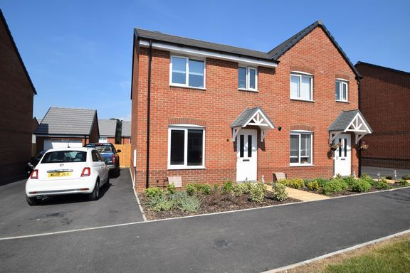 Thumbnail Semi-detached house to rent in Gale Way, Tiverton