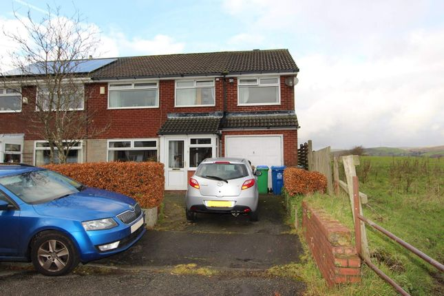 4 bed semi-detached house for sale in Higher Bank Road, Smithybridge, Rochdale