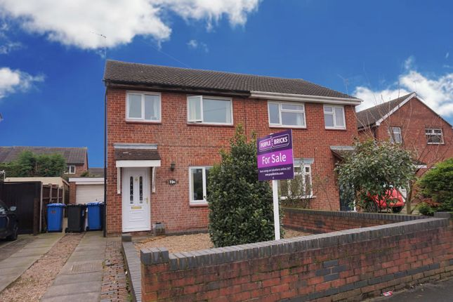Thumbnail Semi-detached house for sale in Crayford Road, Alvaston