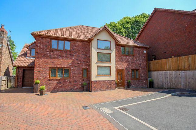 Thumbnail Detached house for sale in Friars Mead, Pentwynmawr, Newbridge