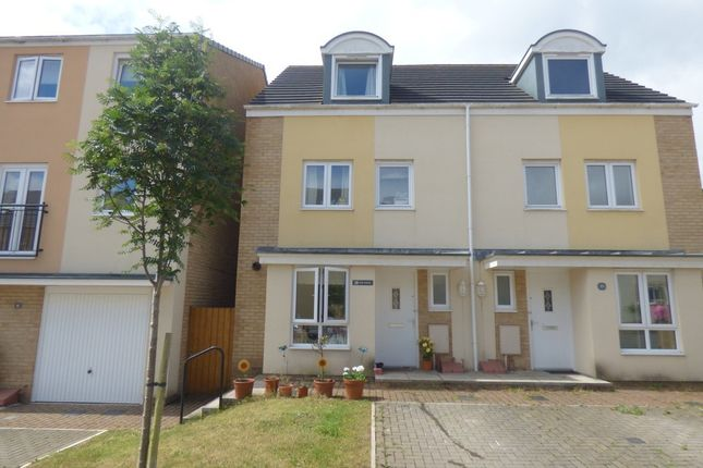 Thumbnail Town house for sale in Syms Avenue, Frampton Cotterell, Bristol