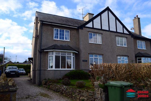 Semi-detached house for sale in Lon Hawen, Abersoch, Pwllheli