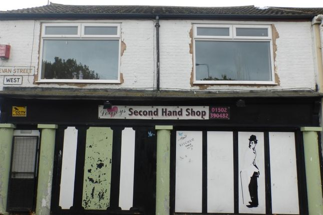 Thumbnail Commercial property for sale in Bevan Street West, Lowestoft, Suffolk