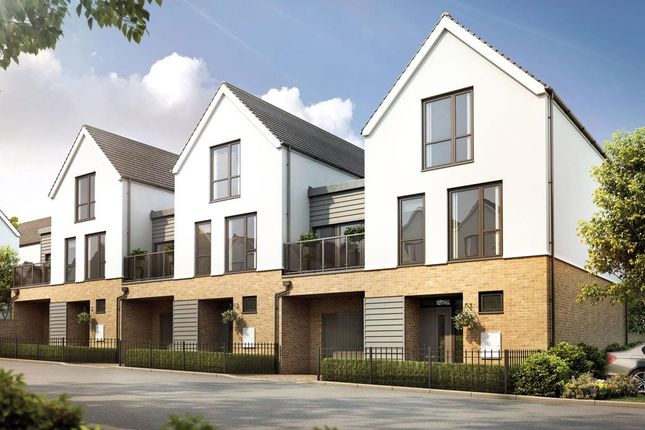 Thumbnail Town house for sale in Plot 53, The Shackleton, St. Andrew's Park, Uxbridge