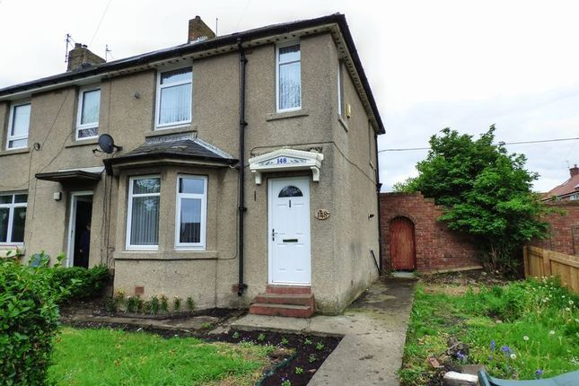 Thumbnail End terrace house for sale in Scrogg Road, Walker, Newcastle Upon Tyne