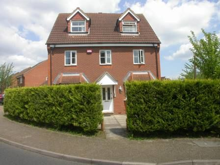 Thumbnail Detached house to rent in Tattenhoe, Milton Keynes