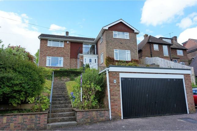 Thumbnail Detached house for sale in Hill Road, Lewes