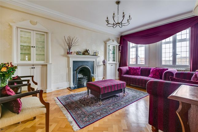 Reception Room of Chiltern Court, Baker Street, London NW1