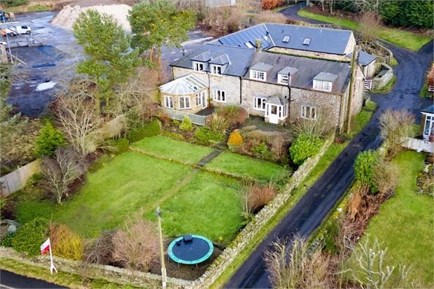 Thumbnail Detached house for sale in Sunnybrae, Otterburn, Newcastle Upon Tyne.