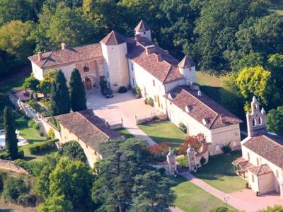 Thumbnail Château for sale in Estg-898, Gers, Midi-Pyrénées, France