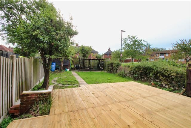Rear Garden of Spinkhill Road, Richmond, Sheffield S13