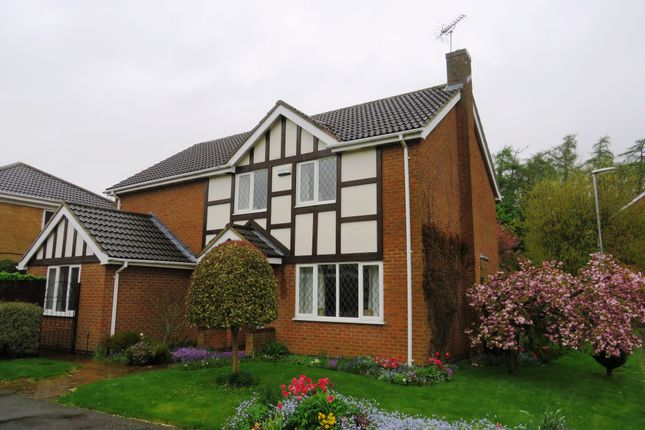 Thumbnail Detached house for sale in Brecon Close, Kettering