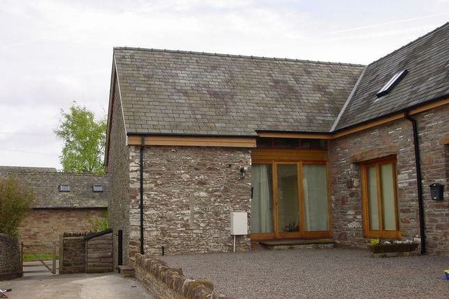 Thumbnail Barn conversion to rent in Llanfihangel Talyllyn, Llanfihangel Talyllyn, Brecon