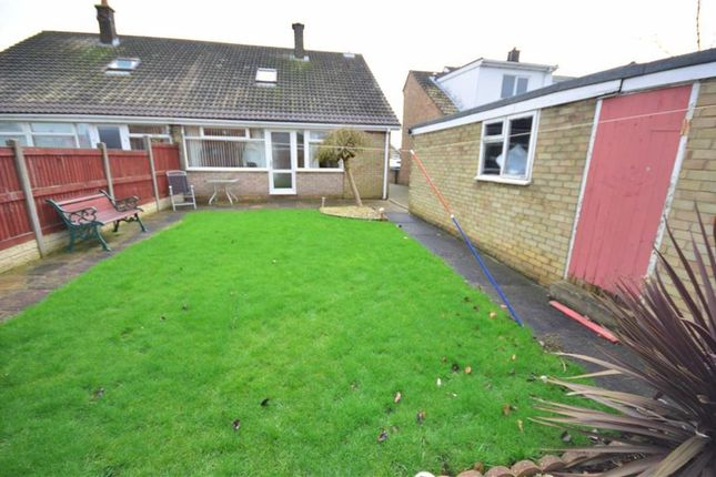 Thumbnail Semi-detached bungalow for sale in The Meadows, Howden, Goole
