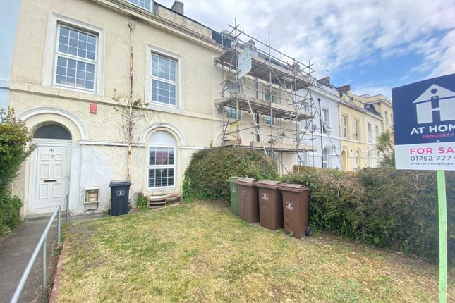 Thumbnail Terraced house for sale in Embankment Road, Plymouth