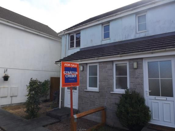 Thumbnail End terrace house for sale in Pengegon, Camborne, Cornwall