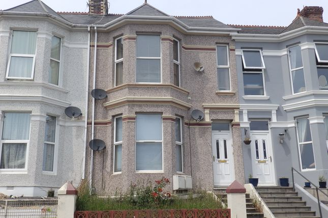 Thumbnail Flat to rent in Beaumont Road, Plymouth, Devon