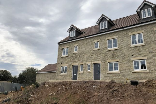 Thumbnail End terrace house for sale in Valley View, Cobblers Way, Radstock