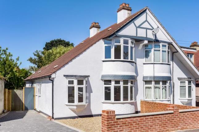 Thumbnail Semi-detached house for sale in Oak Avenue, Shirley, Croydon