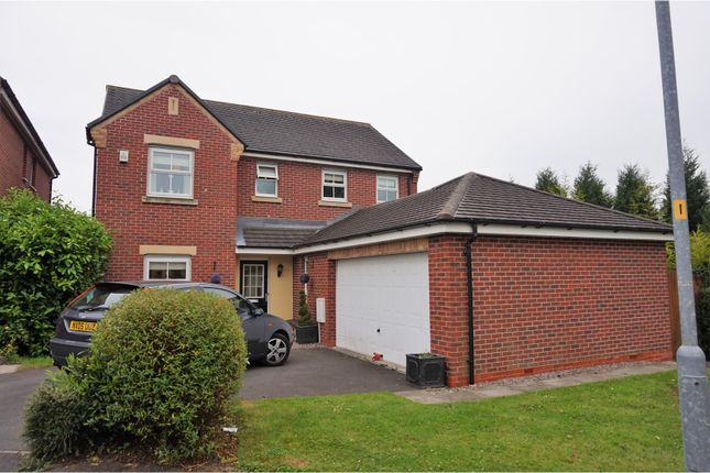 Thumbnail Detached house for sale in Dam Wood Close, Chorley