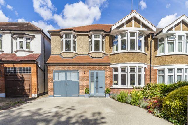 Thumbnail Semi-detached house for sale in Queen Elizabeths Drive, London