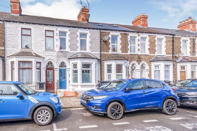 Thumbnail Terraced house for sale in Arabella Street, Roath, Cardiff