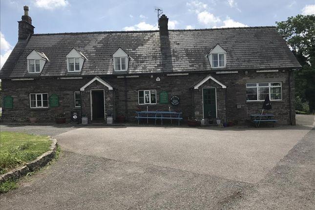 Thumbnail Restaurant/cafe for sale in LD3, Llanhamlach, Powys