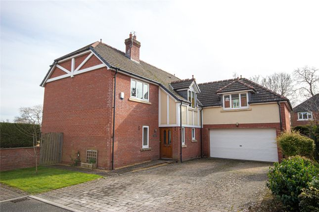 Thumbnail Detached house for sale in Willow House, 15 Scotby Grange, Scotby, Carlisle, Cumbria