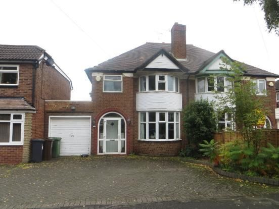 Thumbnail Property to rent in Butler Road, Solihull, West Midlands