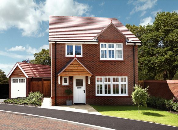 Thumbnail Detached house for sale in Heritage Brook, Off Central Avenue, Chorley, Lancashire