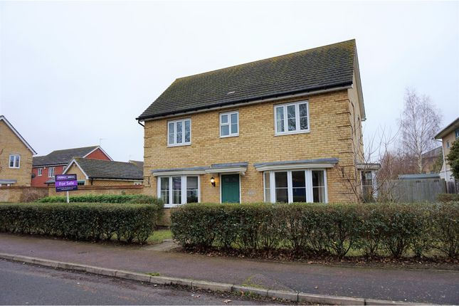 Thumbnail Detached house for sale in Hurdles Way, Duxford, Cambridge