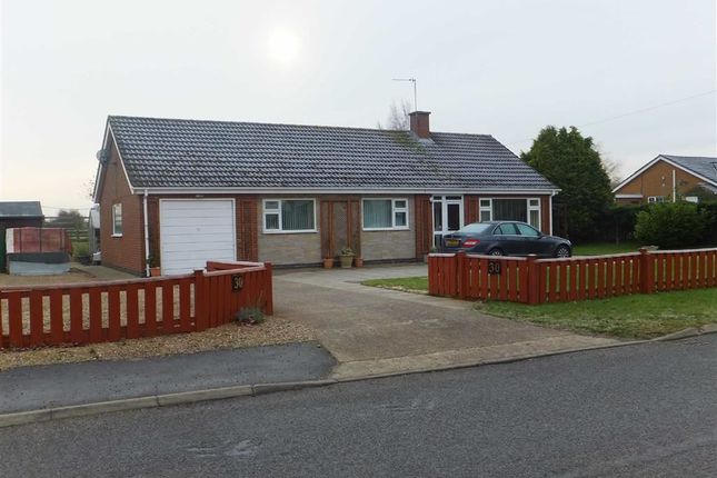 Thumbnail Bungalow to rent in Spridlington Road, Faldingworth, Market Rasen