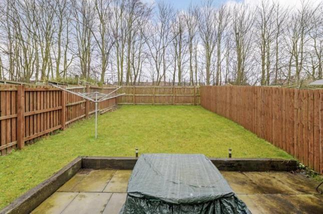 Rear Garden of Rosin Court, Kirkcaldy, Fife KY1