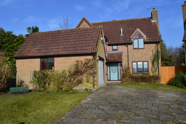 Thumbnail Detached house to rent in Whitelocks Piece, Chilton Foliat, Hungerford