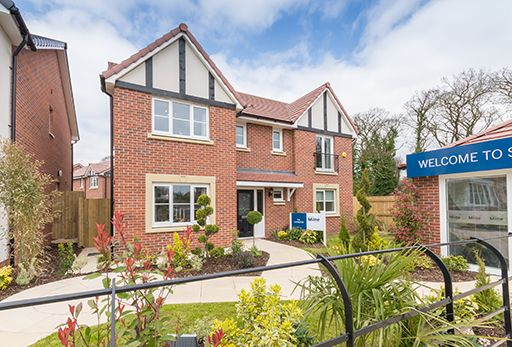 """Thumbnail Detached house for sale in """"Laurieston"""" At Bye Pass Road, Davenham, Northwich CW9, Davenham,"""