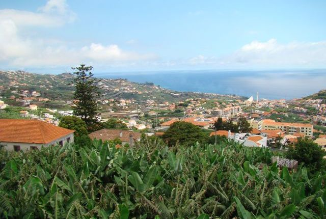 Panoramic Views Over Countryside And Ocean
