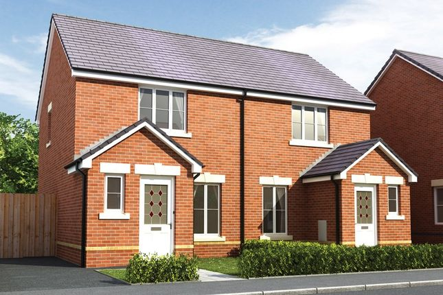 2 bedroom semi-detached house for sale in Bedwellty Field, Britannia Walk, Pengam, Blackwood