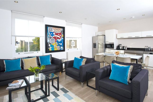 Thumbnail Flat to rent in Nevern Place, London