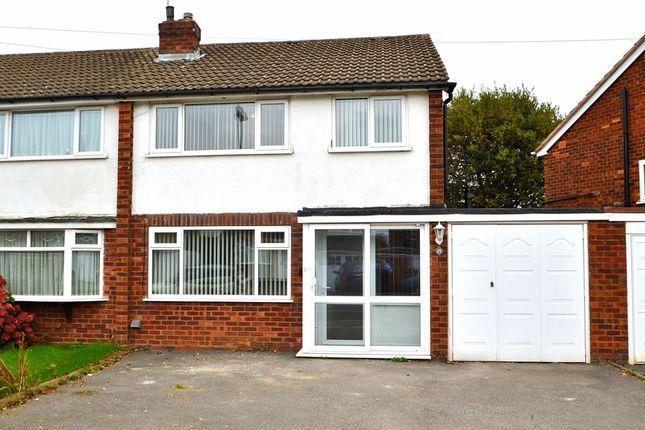Thumbnail Semi-detached house to rent in 15 Listowel Road, Kings Heath, Birmingham