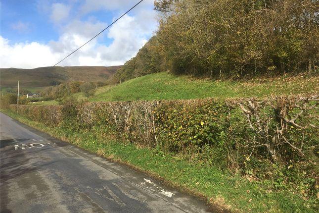 Thumbnail Land for sale in Land Adjoining Cwm Gwyn, Pandy Rhiw Saeson, Llanbrynmair, Powys