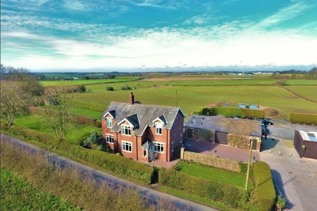 Thumbnail Detached house for sale in Windmill Farm Back Lane, Weeton