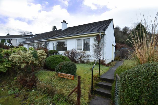 Thumbnail Semi-detached bungalow for sale in 9 Cnoc A'Challtuinn, Clachan Seil, Oban