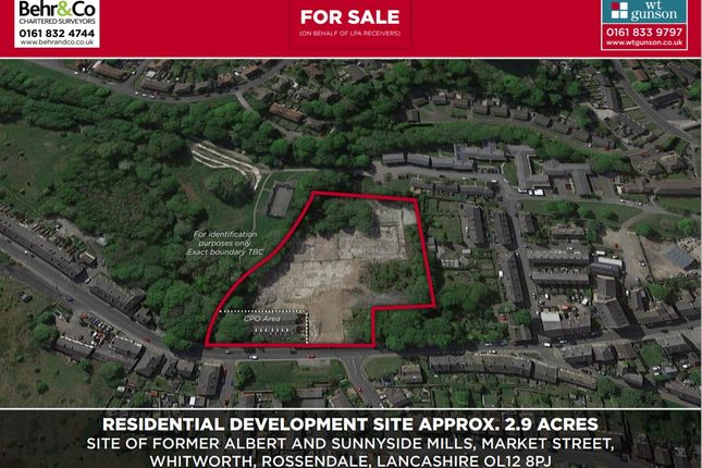Thumbnail Land for sale in Market Street, Whitworth