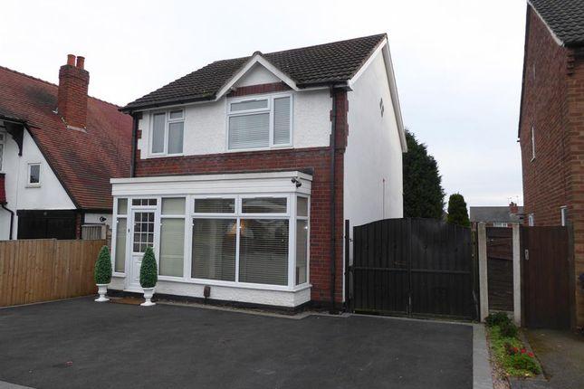 Thumbnail Detached house for sale in Aubrey Road, Harborne, Birmingham
