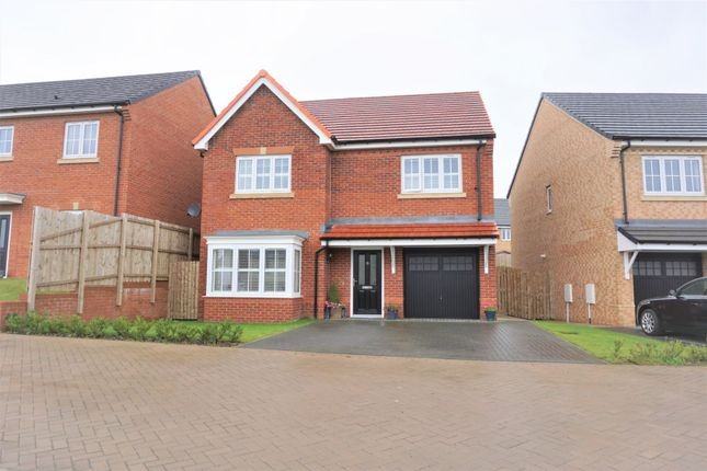 Thumbnail Detached house for sale in Longmeadows, Bedlington