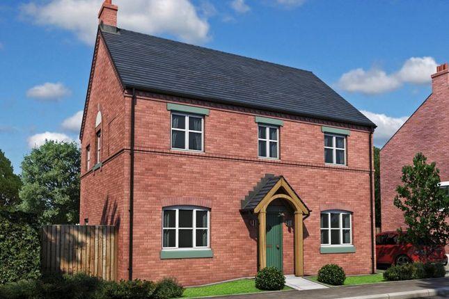 Thumbnail Detached house for sale in Burton Road Tutbury, Staffordshire
