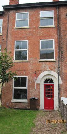Thumbnail Terraced house to rent in Wellington Square, Lenton, Nottingham